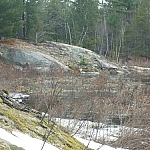 An impassable route on Mashkinonje Park's Atakas Trail.