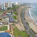 All I had were a few days in Lima, but I did walk along this very seaside stretch!