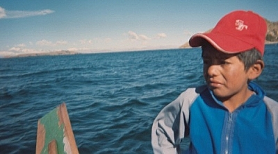 Ever, my Lake Titicaca guide.