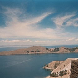 Spectacular views while hiking on Isla del Sol in Bolivia.