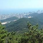 View of Busan seen from Jangsan.