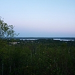 Scenery from the top of Sudbury's Blueberry Hill.