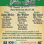 Country In the Woods Music Festival poster