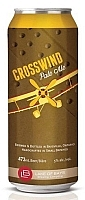 Can of Crosswind Pale Ale by Lake of Bays Brewing Company