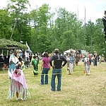 The Dokis First Nation powwow is one of the many outdoor cultural events in the French River area.