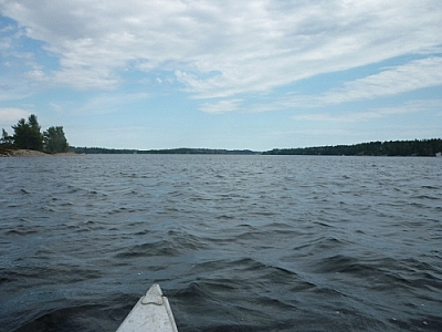 Casual backcountry paddlers will love this easily accessible spot in French River.