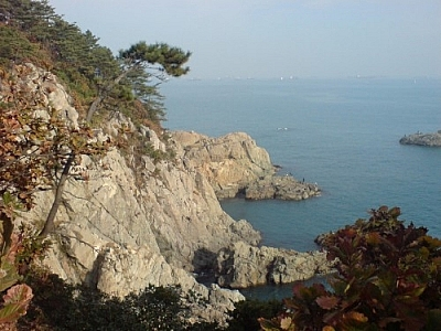 Getting over the initial culture shock of living in Korea is easy with scenery like Busan's.