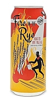 Can of Fire in the Rye Ontario craft beer by Double Trouble Brewing Co.