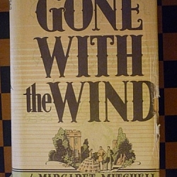 Rereading Gone With the Wind so many times has made my copy a little worn down...