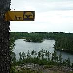 Along Hawk Ridge Trail at Halfway Lake Park, north of Sudbury