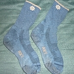 Calf-length performance socks