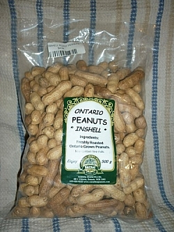 Bag of Kernal Peanuts (in-shell)