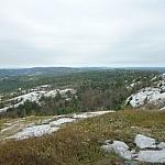View from Silver Peak on the La Cloche Silhouette Trail in Killarney Provincial Park