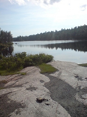 This local fishing hole known as Lac Clair provides space for outdoor recreation in the French River and Lake Nipissing area.