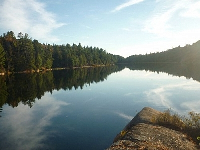Scenery photographed while hiking in Killarney Provincial Park on the stunning Lake of the Woods Trail.