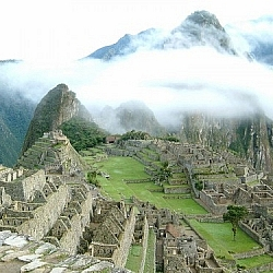 Hiking the Inca Trail to Machu Picchu, Day 4: Finally seeing Machu Picchu.
