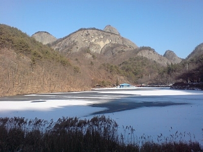 Sights like this unique mountain formation make getting over the initial culture shock of living in Korea a breeze!