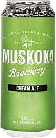 Can of Muskoka Brewery Cream Ale
