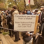 Canadians are more than a market. Base national policy on well-being, not cash flow.