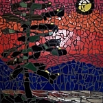 Mosaic by Andrea Gregoire of Pique Passion Mosaics