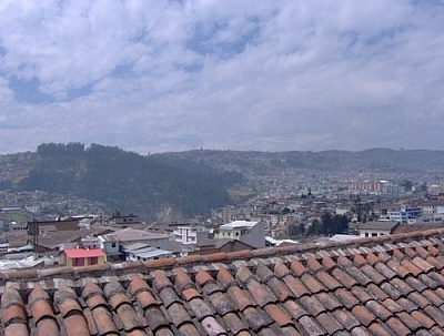 One of the best ways to see the city upon arriving in Quito is from the Monestario de Santa Catalina.