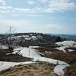 Springtime scenery atop Silver Peak.