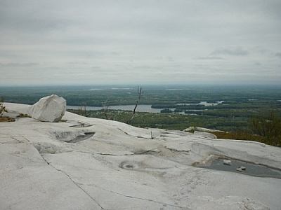 View from Silver Peak in Killarney Provincial Park