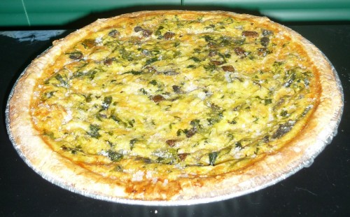 how to make vegetable pie without eggs