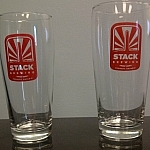 Stack Brewing beer glasses