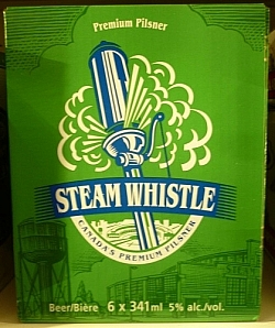 Steam Whistle: Local craft beer from Toronto