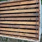 Inside a beekeeping box