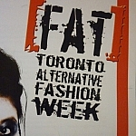 FAT's Toronto Alternative Fashion Week (portion of the program cover)