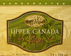 Upper Canada Lager: Local craft beer from Guelph