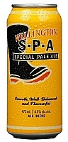 Can of Wellington SPA Ontario craft beer