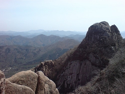 For a great Wolchulsan hike, make sure to take in the breathtaking views!