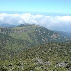Beautiful views at Hallasan National Park.