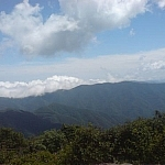 Mountain scenery from Odaesan National Park.