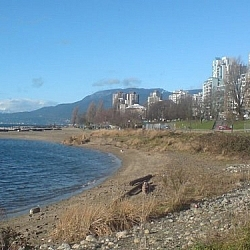 English Bay from the Seaside Trail.