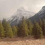 Phenomenal scenery while hitchhiking on a Western Canada road trip between Invermere and Calgary.