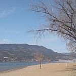 Okanagan Lake from Kelowna