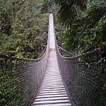 Lynn Canyon Suspension Bridge in North Vancouver.