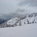 Beautiful view at Mount Seymour Provincial Park.