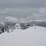 Snowshoeing at Mount Seymour Provincial Park.