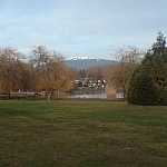 Scenery from Trout Lake Park.