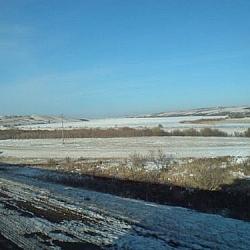 Snow-covered Prairies