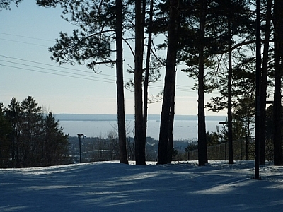 Scenery from the Laurentian Ski Hill.