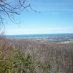 Nottawasaga Bay from Pretty River Valley Provincial Park.