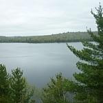 Semiwite Lake scenery at Mississagi Park.