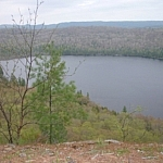 View of Helenbar Lake from the trail...