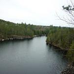 Excellent view from the Etienne Trail at Samuel de Champlain Park.